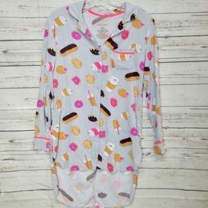 Other - Coffee and donut sleep shirt